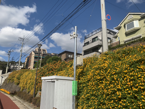福岡市街頭防犯カメラ設置補助金制度設置例