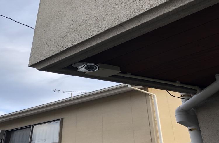 防犯,監視カメラ設置してきました。・・・一戸建て編