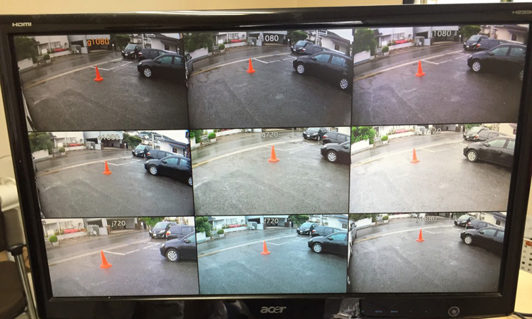主要メーカーの防犯カメラの映像を比較してみた結果?????
