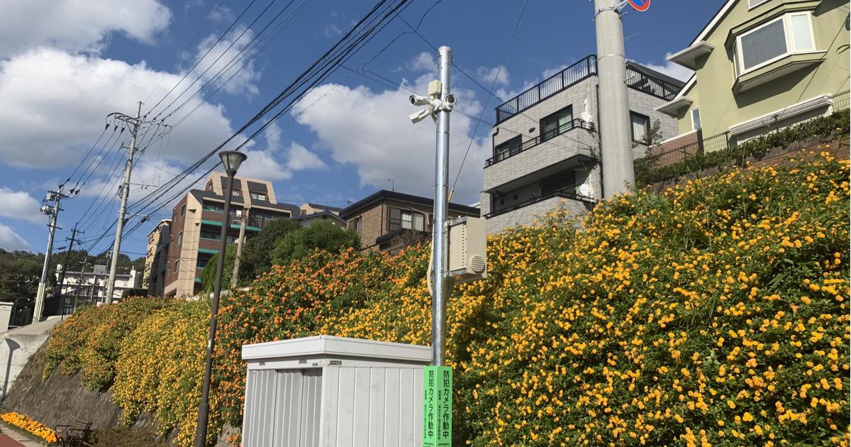 福岡市街頭防犯カメラ設置補助金制度ご利用例