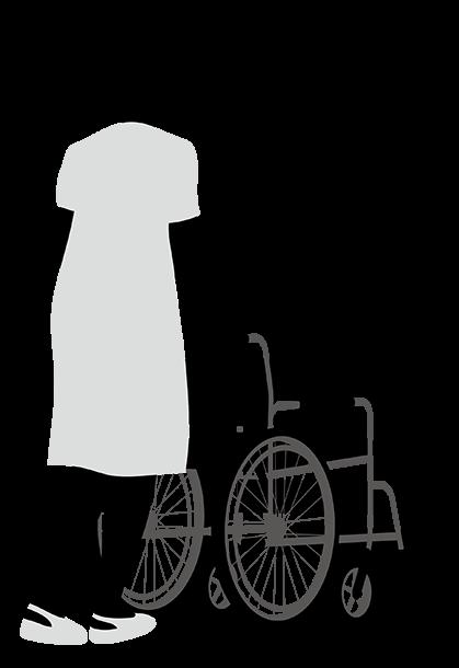 介護スタッフのイメージイラスト