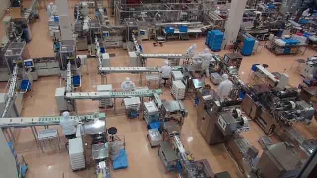 工場内部のイメージ写真