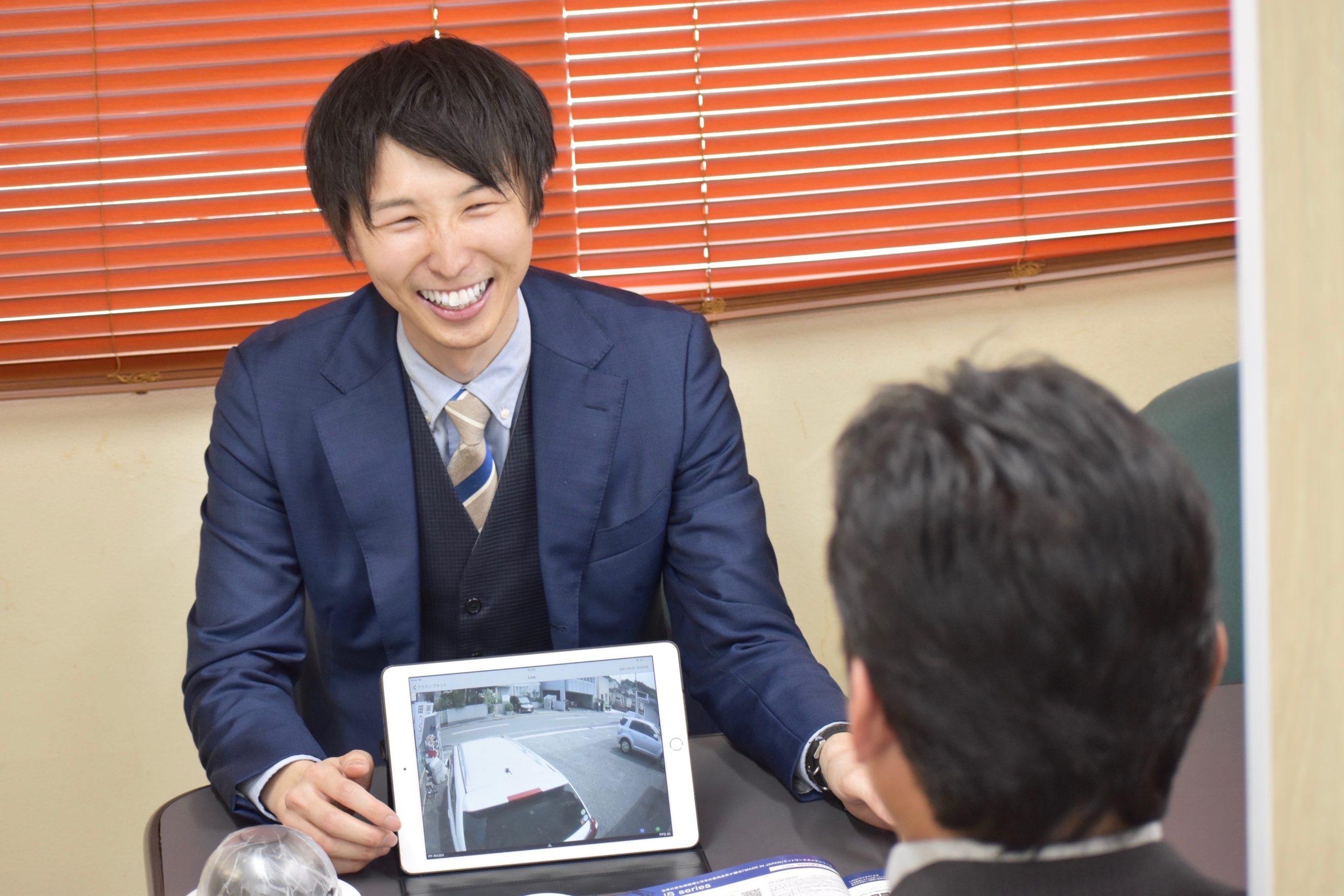 日本防犯の防犯カメラ