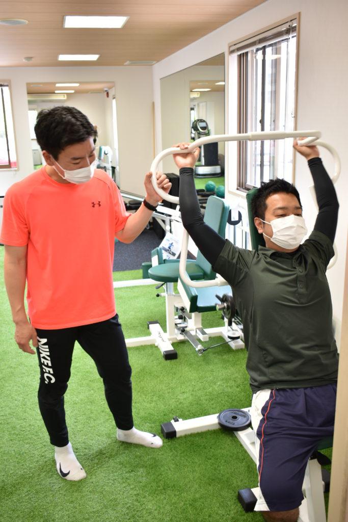 トレーニングの写真
