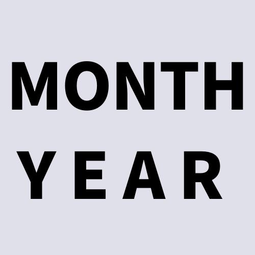 MONTH、YEARと書かれた画像