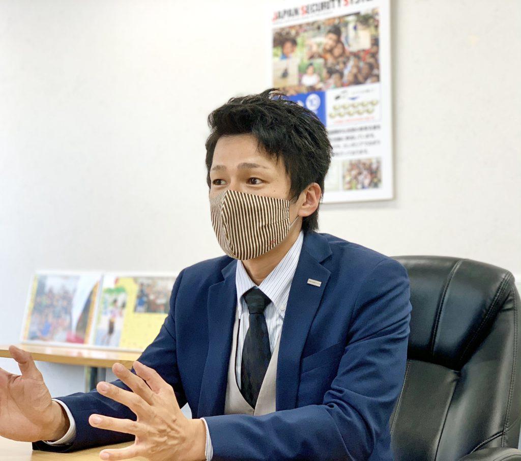 日本防犯システム福岡支店支店長長岡様の写真