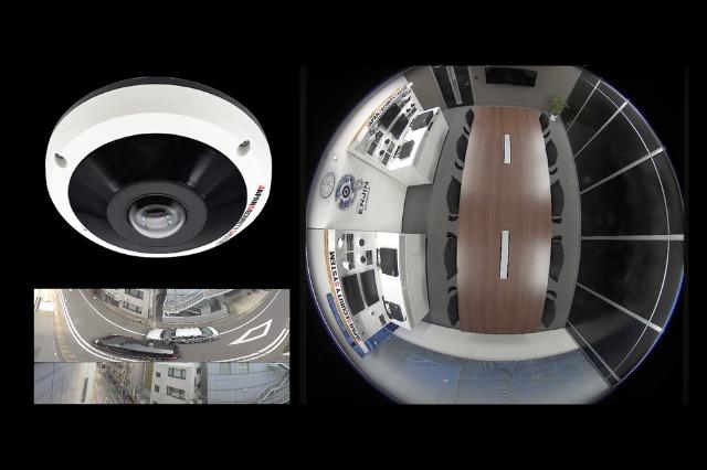 360°全方位カメラのサンプル画像