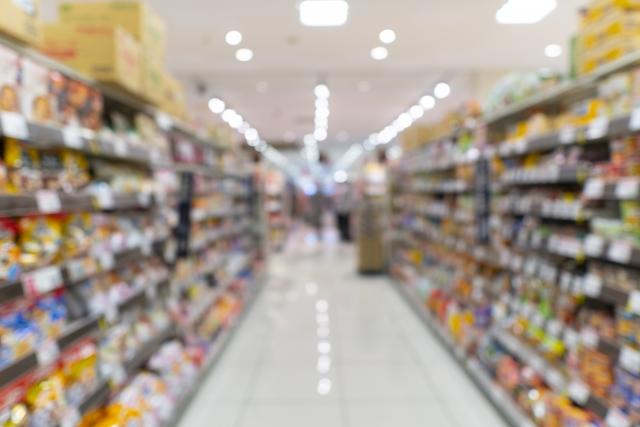スーパー店内の写真