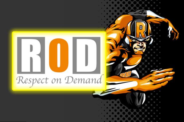 RODのロゴとキャラクターの画像